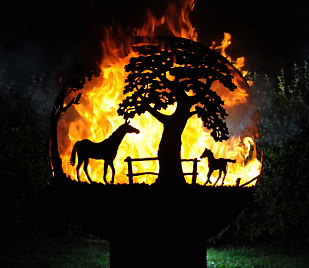 "Очаг - Fire Pit ""Mustang"""